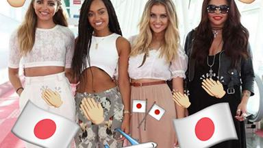 Little Mix in Japan gave us serious #NYEHairGoals