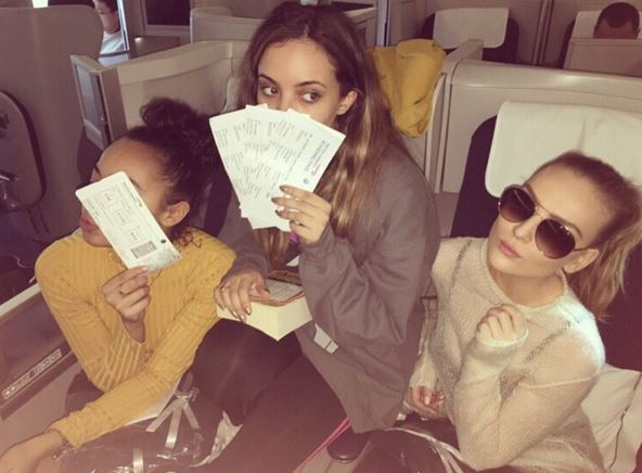 Little Mix jetted off to Tokyo in November to promote their new album *Get Weird.* After landing, the girls SRSLY got into the culture and we legit weren't able to stop stalking their Insta feeds until they got back. They gave us a serious case of hair envy (and srs NYE 2015 hair goals) when...