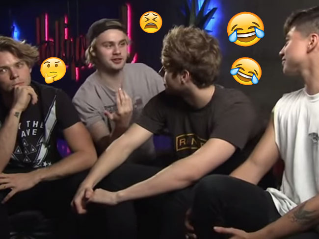 "5SOS explain their ""joken"" system - because they are hilarious"