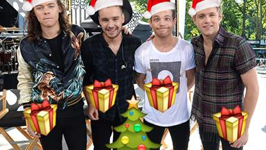 1D reveal what they'd really like for Christmas