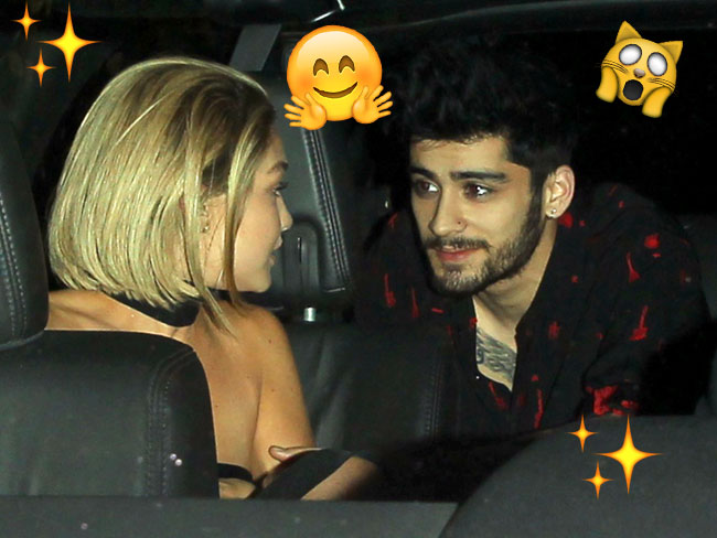 THIS JUST IN: Gigi and Zayn spotted holding actual hands