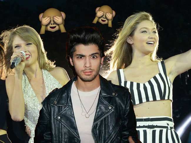 Taylor Swift isn't so cool with Gigi Hadid and Zayn's relationship
