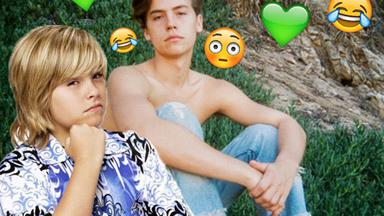 Dylan Sprouse hilariously calls out his twin Cole for posting way too many shirtless selfies