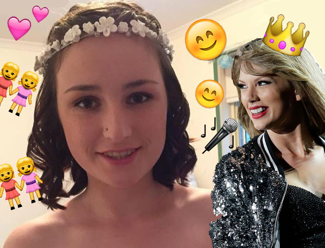 What these girls did for this Swiftie will make you cry happy tears