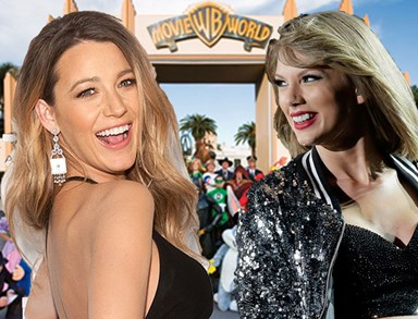Taylor Swift and Blake Lively are literally you and your BFF at Movie World