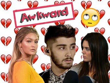 Kendall Jenner is not riding the #Zigi train