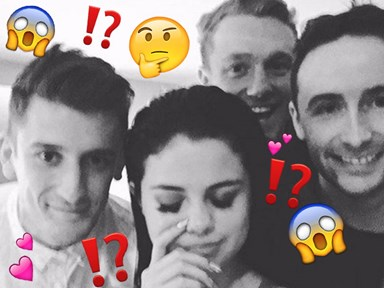 "Selena Gomez ""posted"" a photo with Niall Horan's boy squad then deleted it"