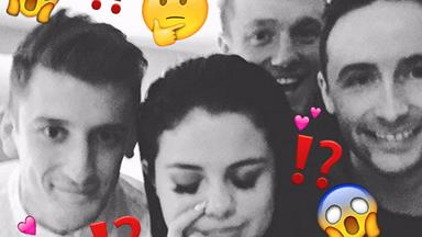 """Selena Gomez """"posted"""" a photo with Niall Horan's boy squad then deleted it"""