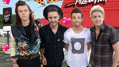 Pizza Hut has offered One Direction part-time jobs for the hiatus