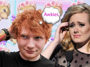Ed Sheeran made a comment about flip phones, accidentally offends Adele