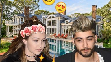 Zayn and Gigi take The Hamptons!