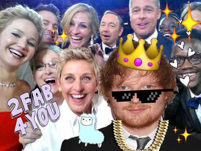 Here's proof the Ed Sheeran is legit friends with EVERYONE in Hollywood