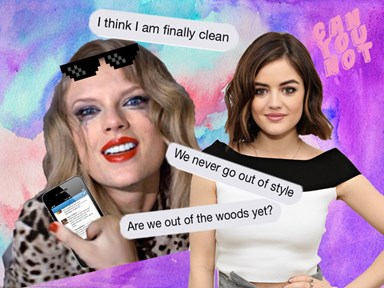 An ~intense~ Taylor Swift fan hacked Lucy Hale's Twitter and the result will make you cry from the LOLs