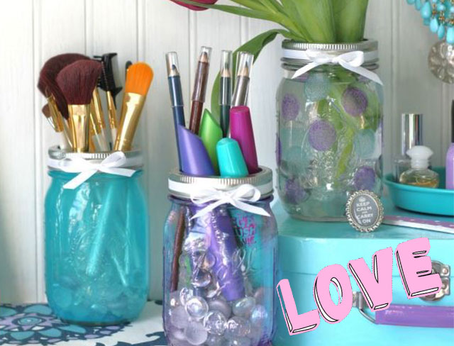 11 cute ways to store your makeup