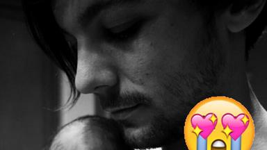 STOP EVERYTHING. Louis Tomlinson just posted an actual photo of his baby AND we know the name!
