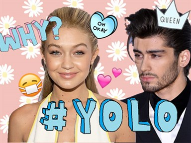 Zayn and Gigi have become that annoying couple on social media...