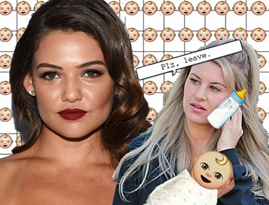 Briana Jungwirth is ~apparently~ not a big fan of Danielle Campbell