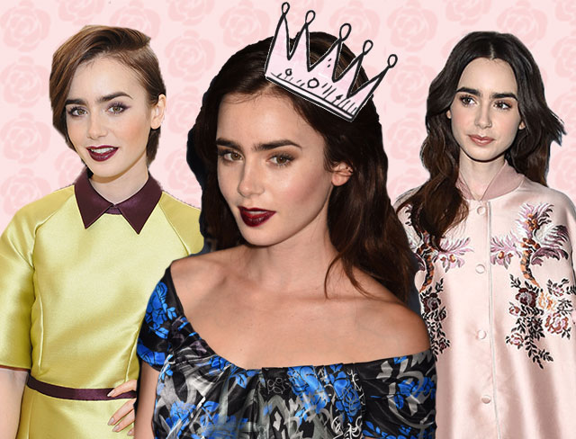 21 times Lily Collins' outfit game was stronger than her brows