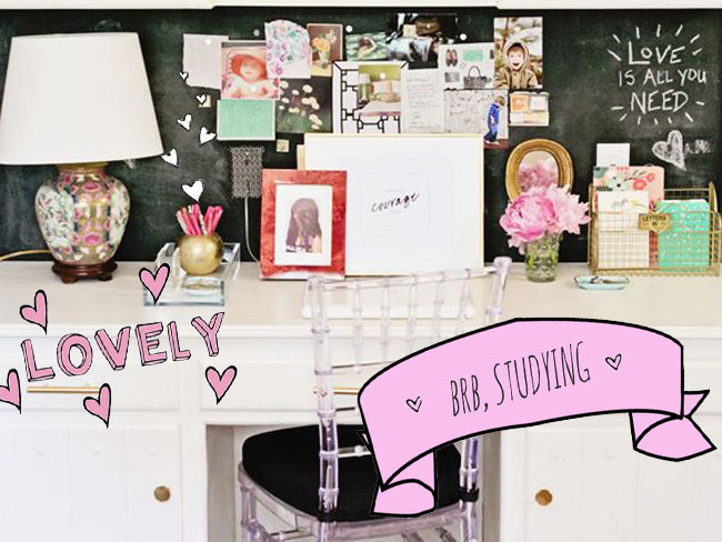 16 desk spaces that will make you want to actually do your homework