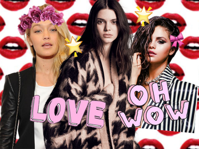 Gigi, Kendall and Selena heat up the cover of LOVE magazine in new photoshoot