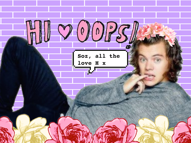 Harry Styles got himself into a bit of trouble with this Instagram post