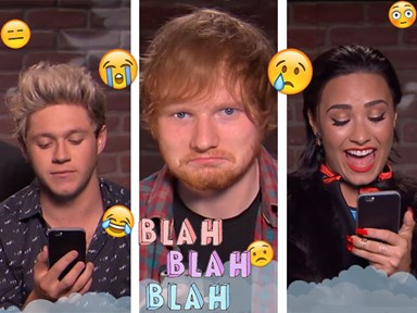 1D, Ed Sheeran, Demi Lovato and more are the latest victims of Mean Tweets