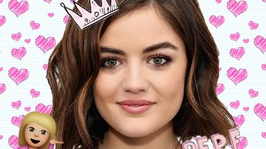 OOFT! Lucy Hale looks srsly ~*aMaZiNg*~ as a blonde!