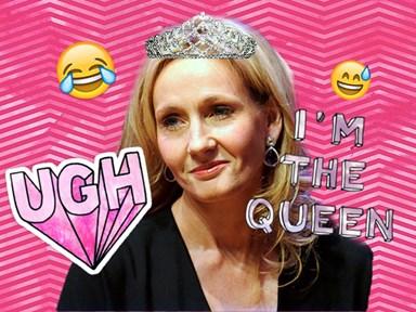J.K. Rowling unleashes the sass on Twitter trolls