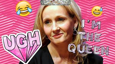 J.K. Rowling unleashes the sass on Twitter trolls