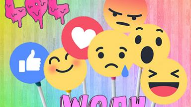 We weren't impressed with the new Facebook reaction emojis so we made our own