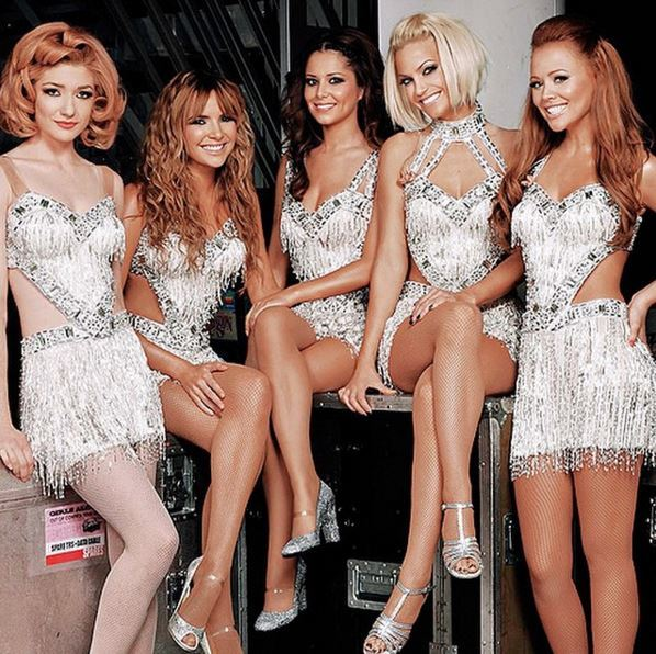 **2. She was in a girl band!** Cheryl shares more with Liam than just baben looks, she was also part of a hugely successful, five-piece British pop band called Girls Aloud. But it gets weirder… Cheryl's band got together on a UK talent show, again, JUST like 1D. *gasps*