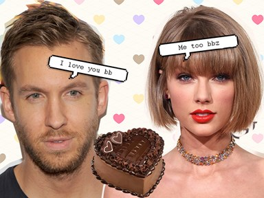 Taylor Swift and bae Calvin do the cutest thing to celebrate their one year anniversary