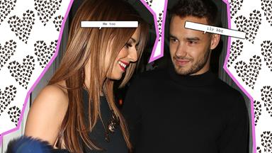 Liam and Cheryl hold hands in public for the very first time