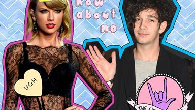 The 1975's Matt Healy has said some not so nice things about Taylor Swift