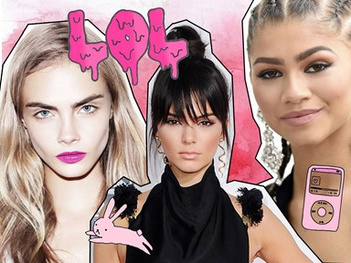 Watch Kendall, Cara and Zendaya re-create this epic 'Work' music video