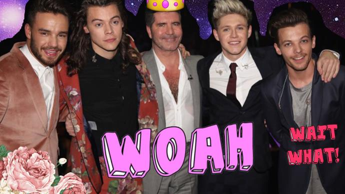 Simon Cowell has shady thing to say about One Direction