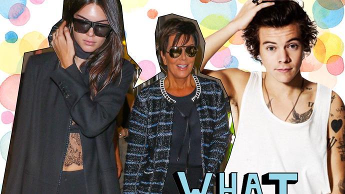 Kris Jenner, Kendall Jenner, Harry Styles