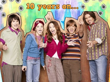 12 now-and-then photos of the cast of Hannah Montana