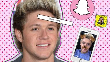 All the best moments from Niall's first week on Snapchat