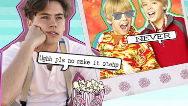 A fan hilariously reminded Cole Sprouse of his ~embarrassing~ Disney Channel days