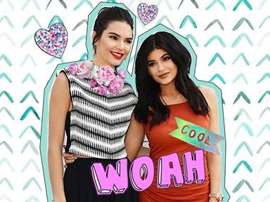 Kendall and Kylie's eyewear range is basically #2die4