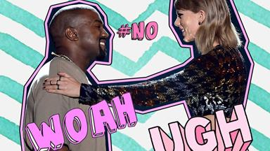 Kanye West has shaded Taylor Swift AGAIN!