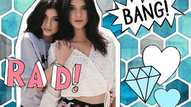 Kendall + Kylie have launched their fashion collection and WOW