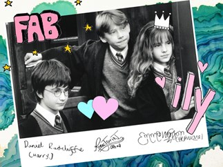 Harry Potter, Ron Weasley, Hermione Granger