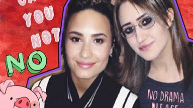 Demi Lovato SLAMS Stalker Sarah on Instagram after she posted this photo