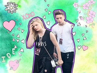 Chloë Grace Moretz and Brooklyn Beckham have been hanging out