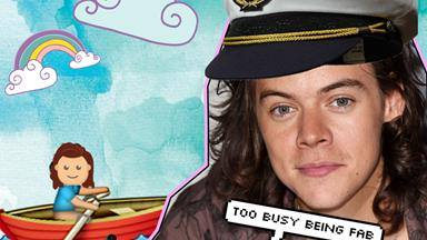 "Ahoy! Harry Styles is going to live on a ship to get into character for ""Dunkirk"""