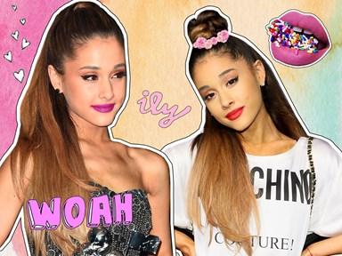 17 of Kween Ariana Grande's best beauty moments