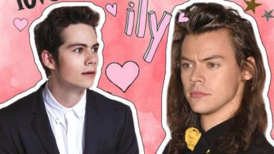 Dylan O'Brien has a massive crush on Harry Styles and we're feelin' it