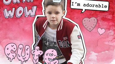Cruz Beckham does the cup song and slays our hearts in the process
